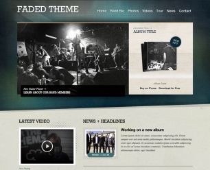 Themes for Band epk template