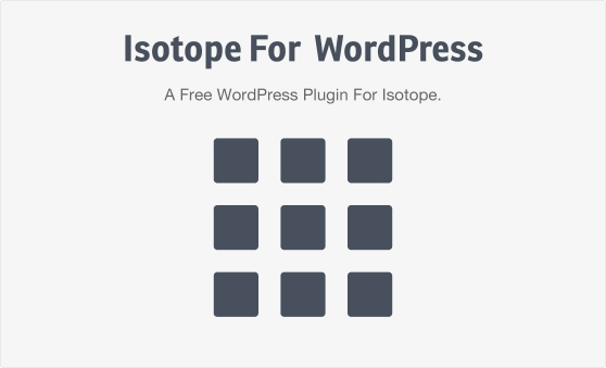 isotope-for-wordpress