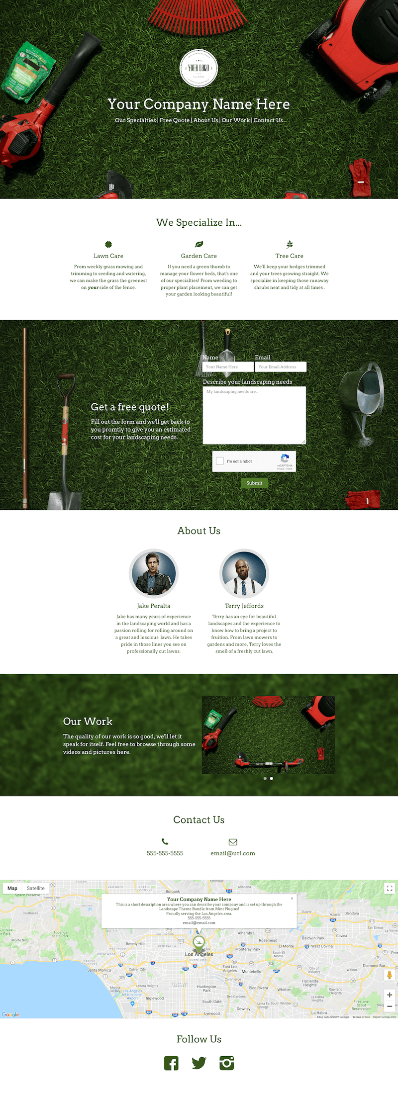 Landscaping Theme Bundle